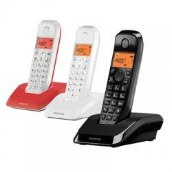 MOTOROLA S1203 Telefono DECT TRIO Colores - Imagen 1