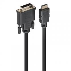 EWENT CABLE HDMI A DVI-D macho , 2,0 metros - Imagen 1