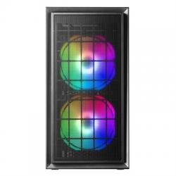 Mars Gaming Caja MCDUO MICRO-ATX 2XFRGB MESH BLACK - Imagen 1