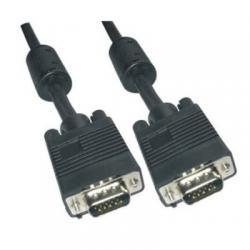Cable Conmutador Vga 15 metros Negro - Imagen 1