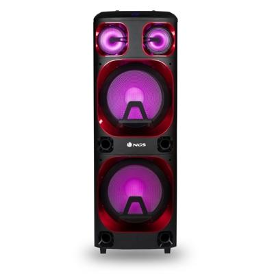 NGS Torre de Sonido WILD SKA 3 Bluetooth 1200W - Imagen 1
