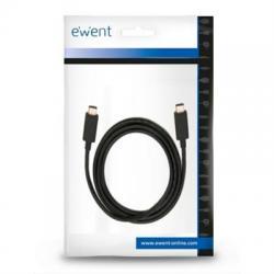 Ewent Cable USB-C CARGA RÁPIDA 60W 10Gbps,4K 1m - Imagen 1