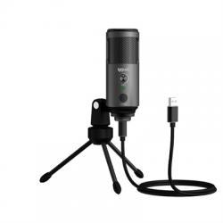 iggual Micrófono condensador Podcasting Pro gris - Imagen 1