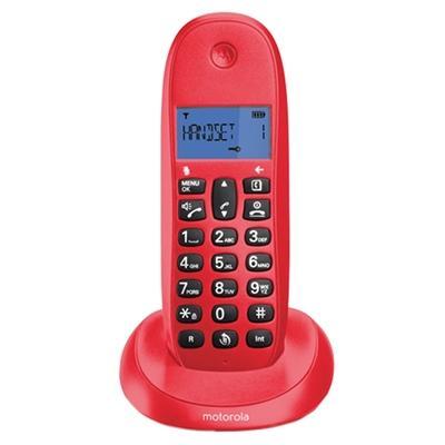 MOTOROLA C1001 LB+ Telefono DECT Cereza - Imagen 1