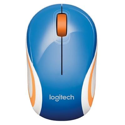 Logitech Ratón Mini M187 Inalámbrico Azul - Imagen 1