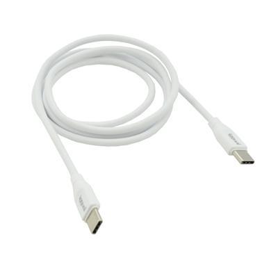iggual Cable USB-C/USB-C 100 cm blanco Q3.0 3A - Imagen 1