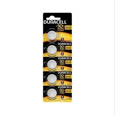 Duracell Pila Boton Litio CR2032 3V BLISTER*5 - Imagen 1