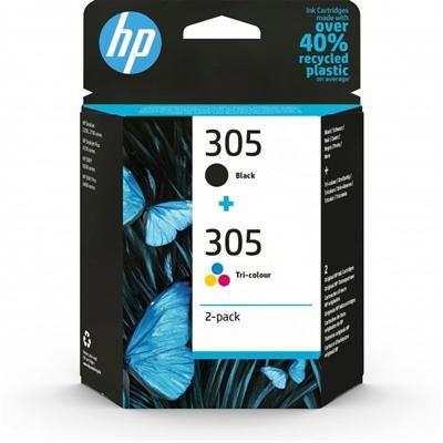 HP Cartucho Multipack 305 Negro+Color - Imagen 1