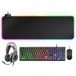 Mars Gaming Combo MCPEX GAMING 4IN1 RGB FRENCH - Imagen 1