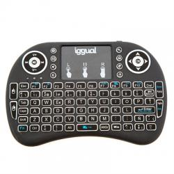 iggual Mini teclado inalámbrico con panel táctil - Imagen 1