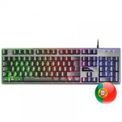 Mars Gaming Teclado MK220 RGB RAINBOW H-MECH PT - Imagen 1