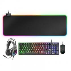 Mars Gaming Combo MCPEX GAMING 4IN1 RGB PORTUGUESE - Imagen 1