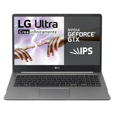 """LG 15U70P i7-1165G7 16GB 512GB 1650Ti W10 15""""plata - Imagen 1"""